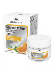 Cremă antirid hidratantă 30+ Vitamin C Plus, 50ml, Cosmetic Plant