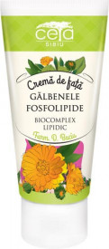 Crema de fata cu extract de galbenele & fosfolipide, 50ml, Ceta Sibiu