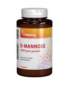 D-manoza pulbere, 100g, Vitaking