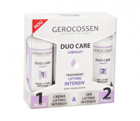 Duo Care tratament lifting intensiv, crema 30 ml + ser 30 ml, Gerocossen