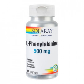 L-Phenylalanine 500mg, 60cps, Solaray