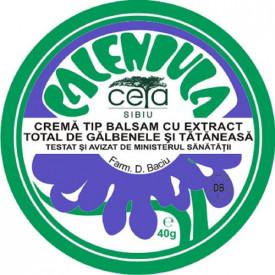 Unguent cu extract de galbenele si tataneasa , 40g, Ceta Sibiu