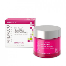 1000 Roses Heavenly Night Cream, 50g, Andalou