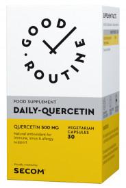 Daily-Quercetin (Quercetina) 500mg, 30cps, Good Routine