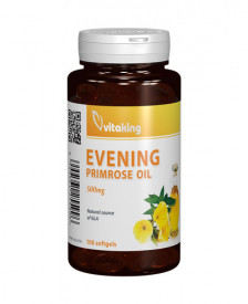 Evening Primrose oil (ulei de primula) 500 mg, 100cps, Vitaking
