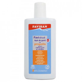 Favi-fresh apa de gura cu propolis (BIO),250ml, Favisan