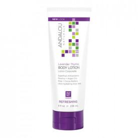 Lavender Thyme Refreshing Body Lotion, 236ml, Andalou
