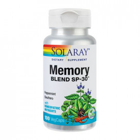 Memory Blend, 100cps, Solaray