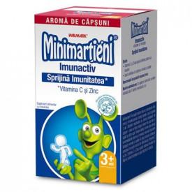 Minimarțieni Imunactiv(capsuni), 30cps masticabile, Walmark