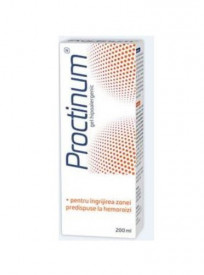 Proctinum gel hipoalergic, igiena ano-rectala, 200ml, Zdrovit
