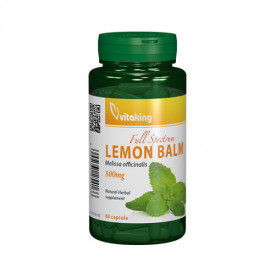 Roinita (Lemon Balm) 500mg, 60cps, Vitaking