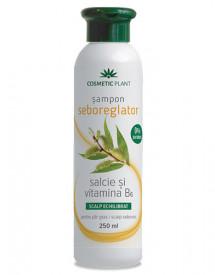 Sampon seboreglator cu salcie alba&complex de vitamine B, 250ml, Cosmetic Plant
