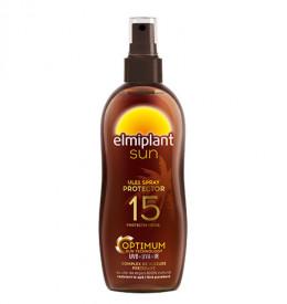 Sun ulei spray plaja protector, SPF15, 150ml, Elmiplant Plaja