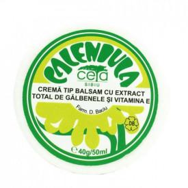 Unguent cu extract de galbenele si Vitamina E, 40g, Ceta Sibiu