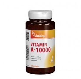 Vitamina A 10.000UI, 250cps gelatinoase, Vitaking