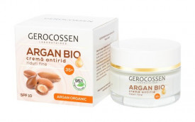 Argan bio crema antirid riduri fine 35+ spf 10, 50 ml, Gerocossen