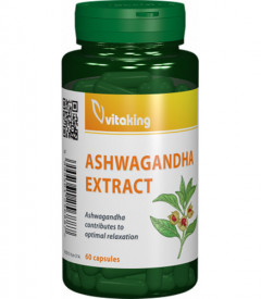 Ashwagandha extract 240 mg, 60cps, Vitaking