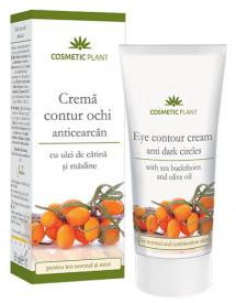 Crema contur ochi cu ulei de catina, 30ml, Cosmetic Plant