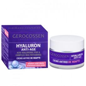 Hyaluron anti-age crema antirid noapte, 50ml, Gerocossen