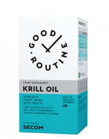 Krill Oil, 60cps gelatinoase moi, Good Rutine