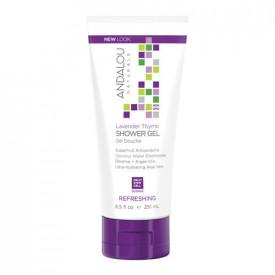 Lavender Thyme Refreshing Shower Gel, 251ml, Andalou