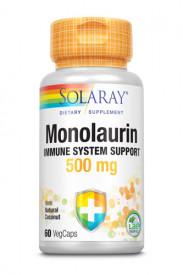 Monolaurin 500mg, 60cps, Solaray