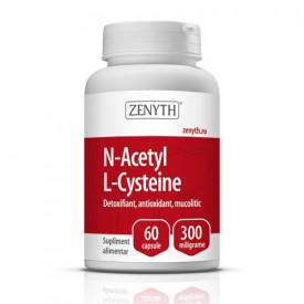 N-Acetyl L-Cysteine, 60cps, Zenyth Pharmaceuticals