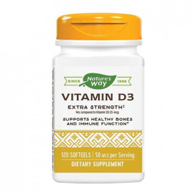 Vitamina D3 2000UI,120cps, Nature's Way