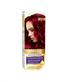 Vopsea de par permanenta Intensse Color 5.2 Rosu Rubin, 50 ml, Gerocossen