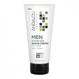 MEN Smooth Glide Shave Cream, 178ml, Andalou
