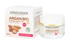 Argan bio crema antirid riduri vizibile 45+ spf 10, 50 ml, Gerocossen
