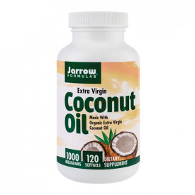 Coconut Oil Extra Virgin 1000mg, 120cps, Jarrow Formulas