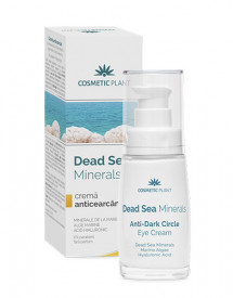 Crema anticearcan Dead Sea minerals, 30ml, Cosmetic Plant