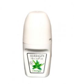 Deodorant roll-on Energy cu aloe vera, 50ml, Herbagen