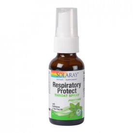 Respiratory Protect Throat Spray, 30ml, Solaray