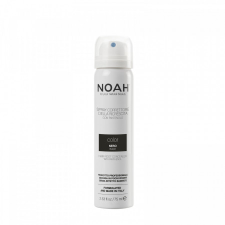 Spray corector cu vitamina B5 pentru acoperirea radacinii parului - NEGRU, Noah, 75 ml