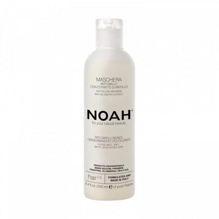 Masca naturala Anti-Yellow cu extract de affine, 2.6, Noah, 250 ml