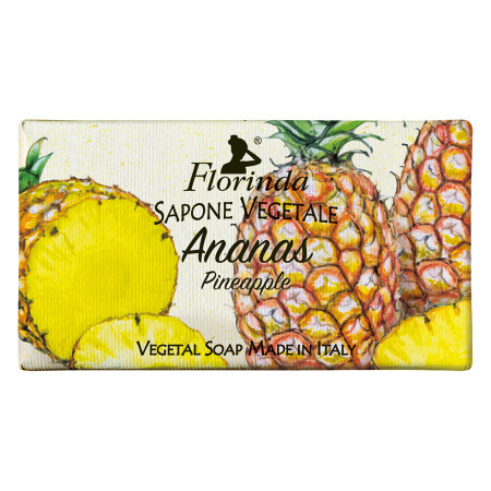 Sapun vegetal cu ananas Florinda, 100 g La Dispensa