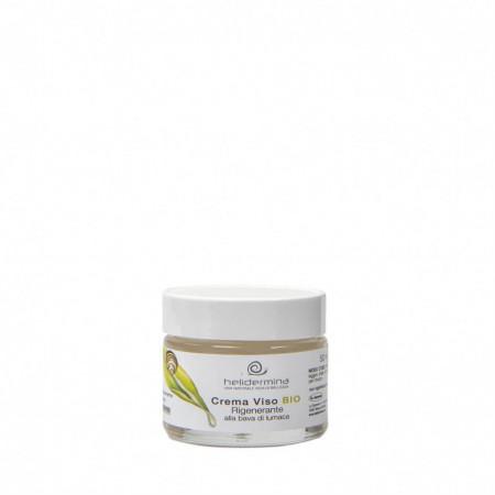 Crema de fata revitalizanta cu 30% extract de melc BIO, Helidermina, La Dispensa, 50 ml