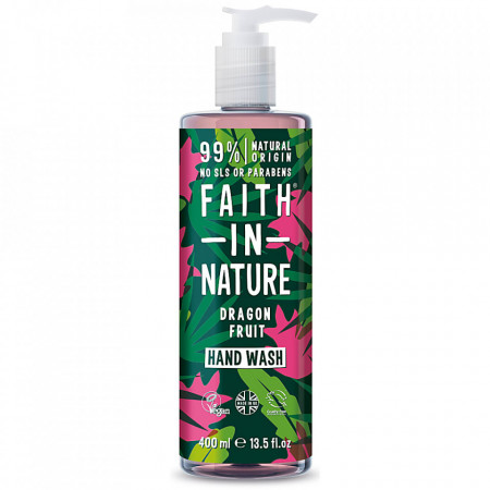 Sapun lichid natural cu fructul dragonului, Faith in Nature, 400 ml