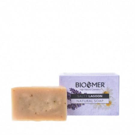 Sapun natural hidratant pentru ten sensibil cu Aloe Vera BIO, Bio Mer, 90g