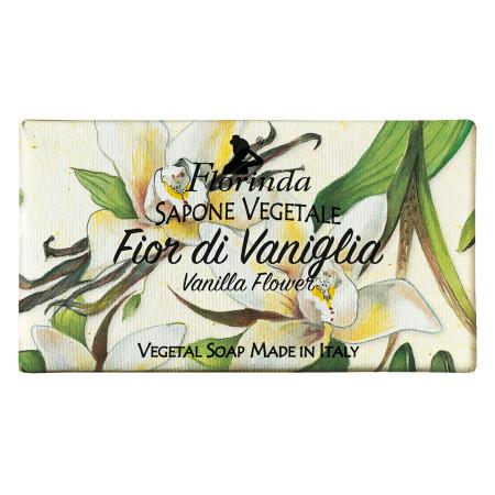 Sapun vegetal cu vanilie Florinda, 100 g La Dispensa