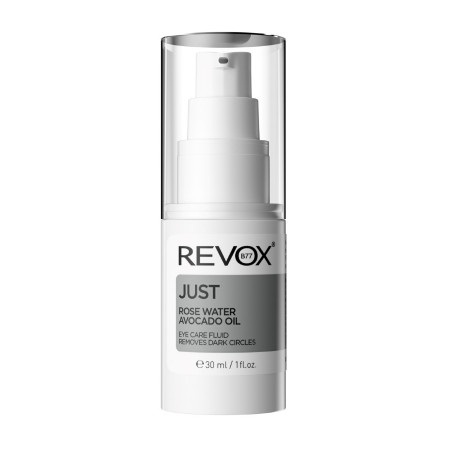 Serum pentru zona ochilor JUST Rose Water Avocado Oil Eye Care Fluid, Revox, 30ml
