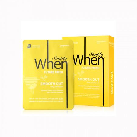 Set Masca coreana hidratanta si revigoranta pentru ten obosit, Future Fresh, 115 ml, Simply When (5 buc)