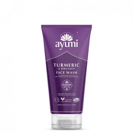 Gel de curatare faciala cu Turmeric & Bergamota, Ayumi, 150 ml
