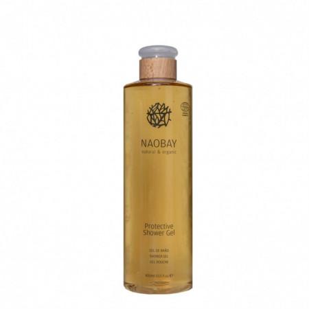 Sampon & Gel de dus revitalizant BIO cu extract de musetel Protective, Naobay, 400 ml