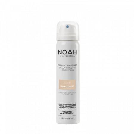 Spray corector cu vitamina B5 pentru acoperirea radacinii parului - BLOND DESCHIS, Noah, 75 ml
