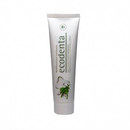 Pasta de dinti multifunctionala cu extract de 7 plante si Kalident, Ecodenta, 100ml
