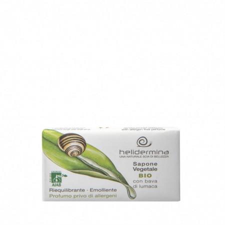 Sapun vegetal cu 2% extract de melc Helidermina, 100 g La Dispensa