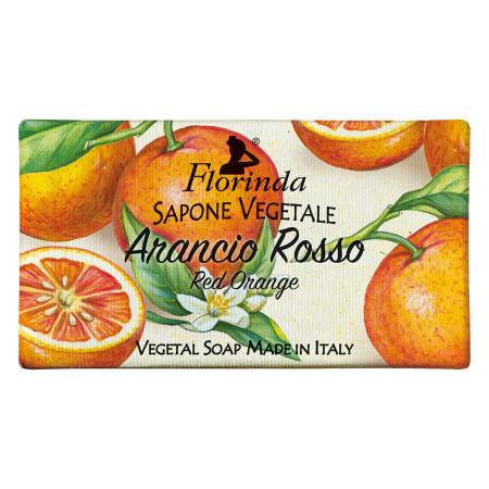 Sapun vegetal cu portocale rosii Florinda, La Dispensa, 100g
